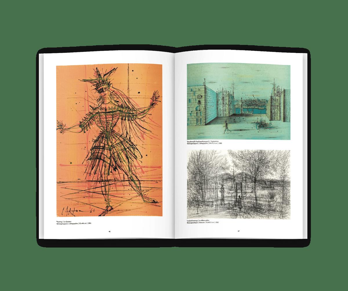 velvetmade Yerevan art exhibition catalog design