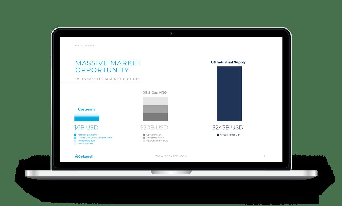 velvetmade GoExpedi corporate powerpoint presentation mockup